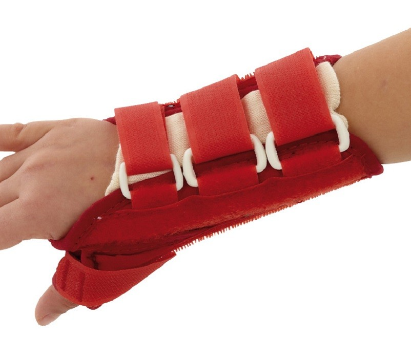 Paediatric Wrist Thumb Splint front view