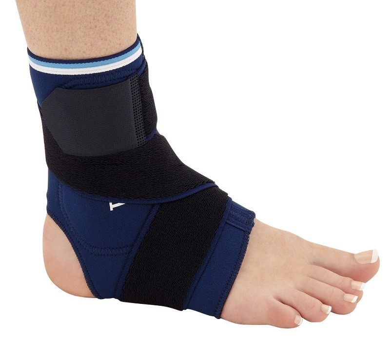 Neoprene Ankle Support With Thermoplastic Plates