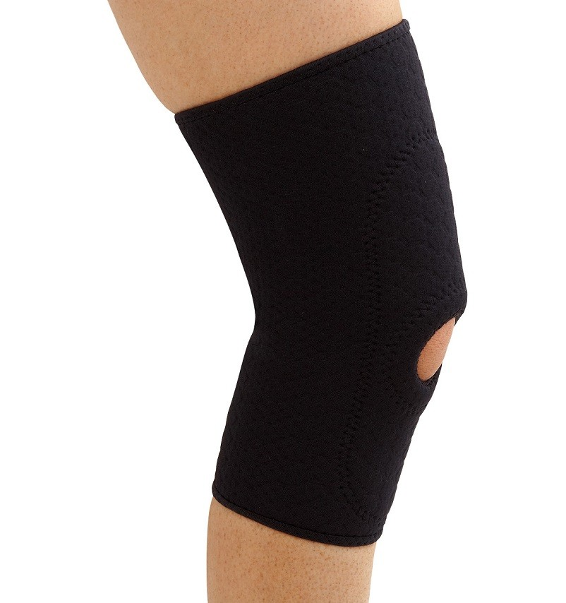 Padded Knee Sleeve in black Ortho-Tex