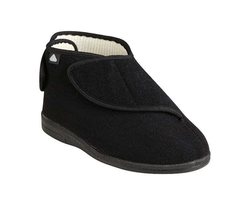 Morecombe slippers in black