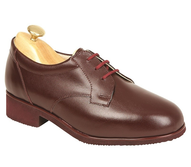 Venice Diabetic Burgundy Leather