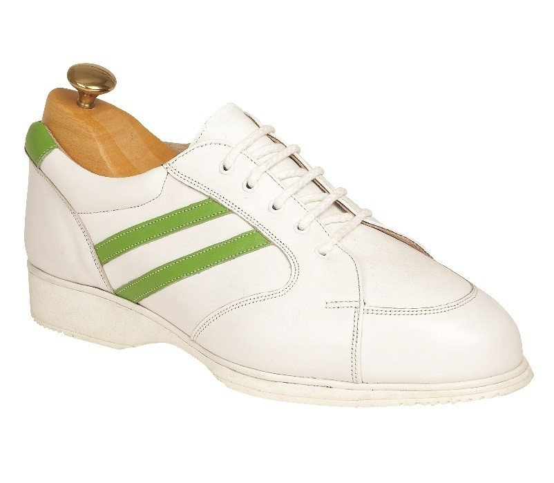 Tokyo RA White Leather with Lime