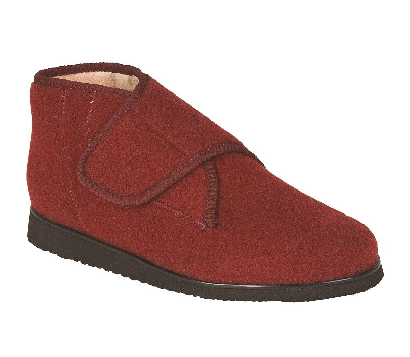 Slipper Boot - Cherry