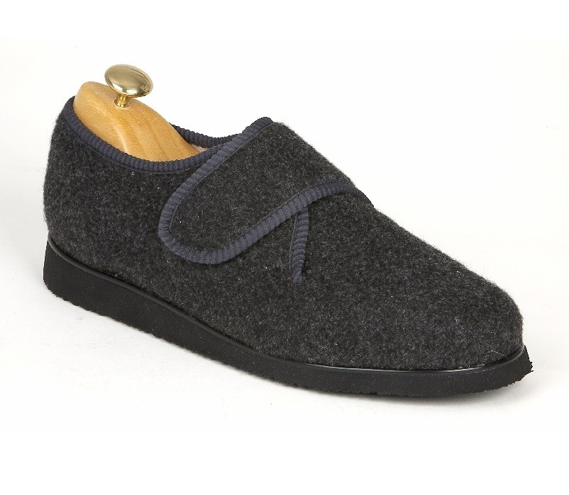 Slipper Shoe - Grey