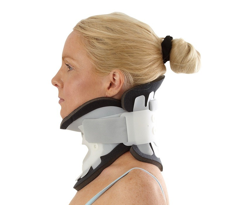 Adjustable Cervical Collar side view