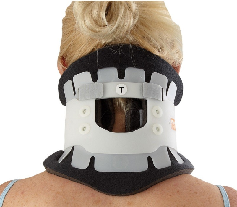 Adjustable Cervical Collar back view