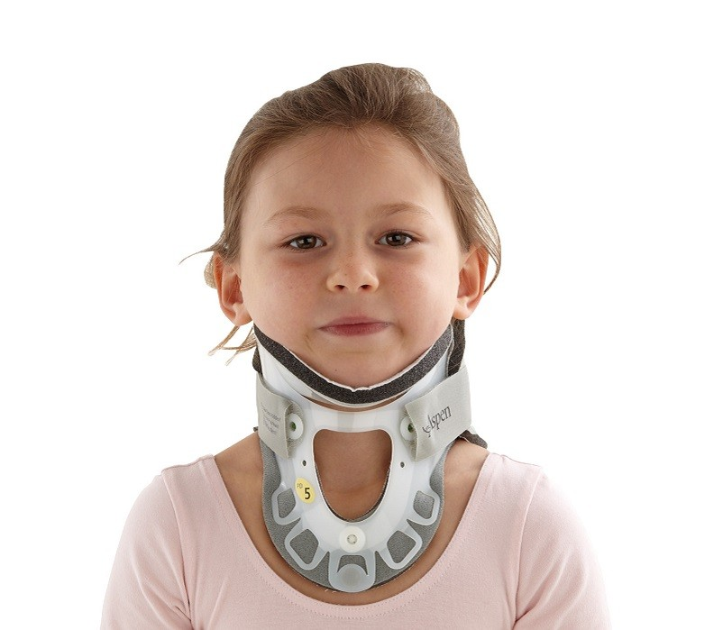 Paediatric Aspen Collar front view