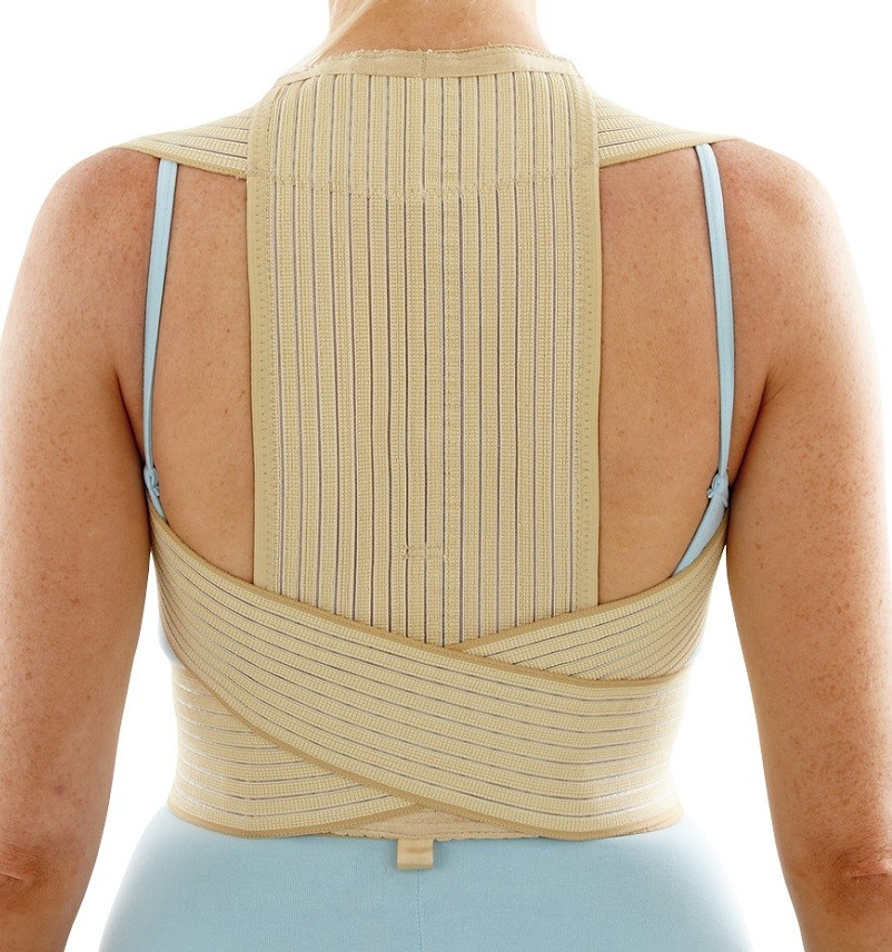 Clavicle Posture Shoulder Support back view