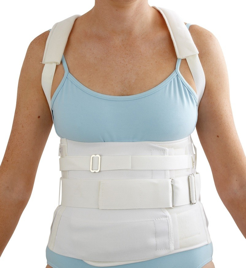Hyperextension Orthomold Spinal Orthosis Front