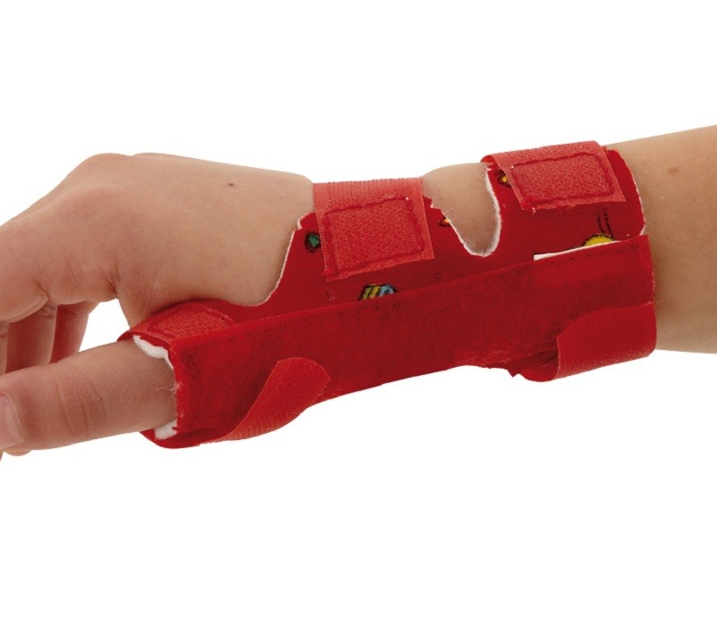 Paediatric Wrist Thumb Support side view