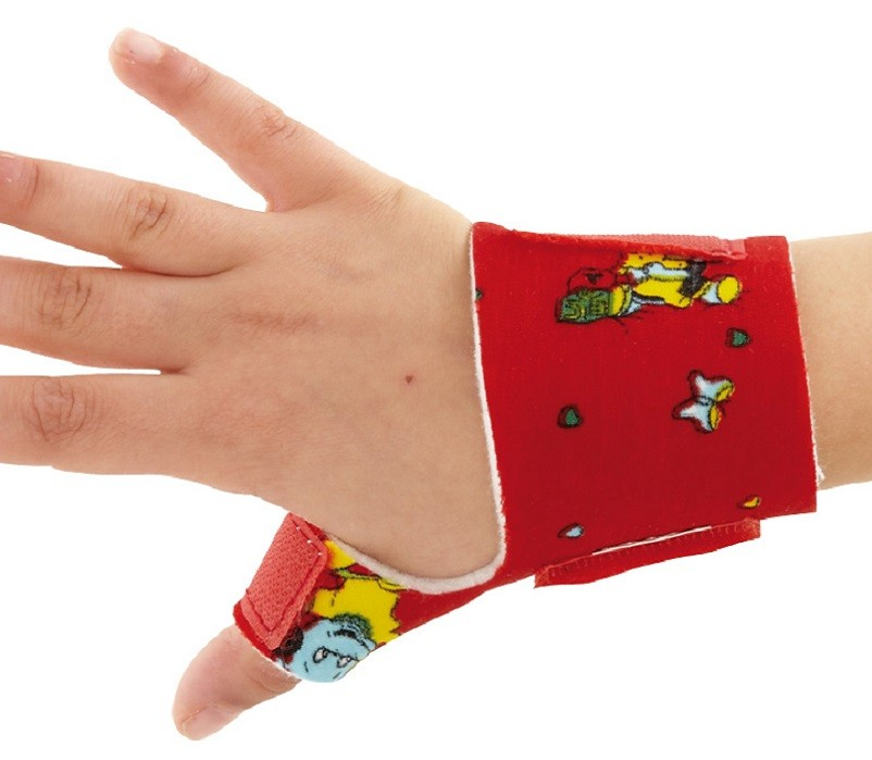 Paediatric Thumb Support front view