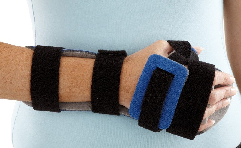 Resting Hand Orthosis front view