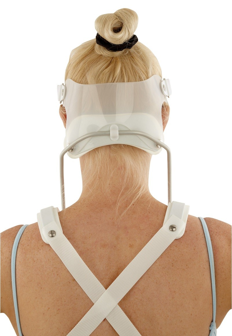 SOMI® Brace with headband attached