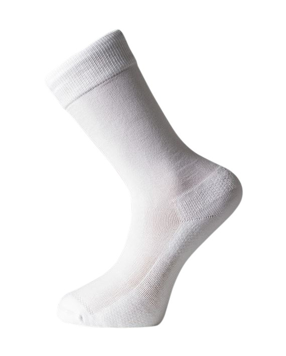 Protect iT Diabetic Socks - Comfort Dress - White