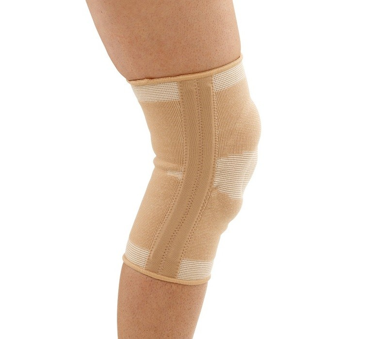 Four Way Elastic Knee Support with Patella Ring