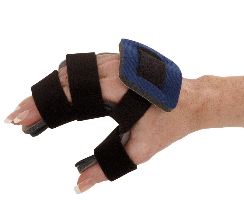 Opponent Hand Orthosis side view