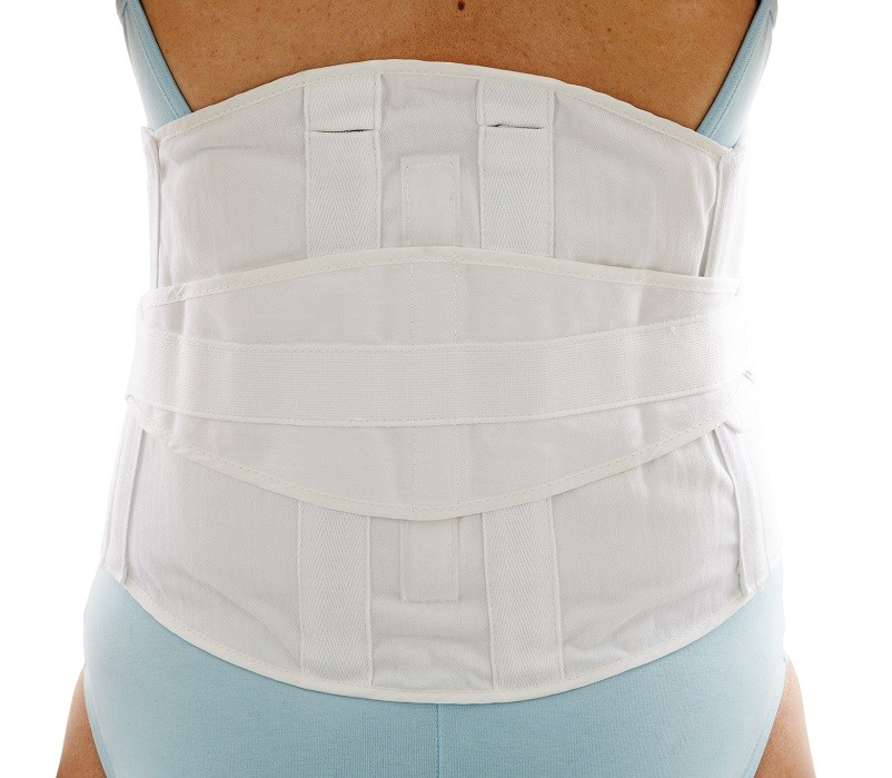 Comfort Lumbar Sacral Support back view