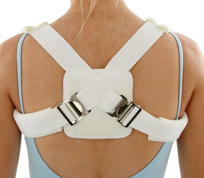 Clavicle Splint back view