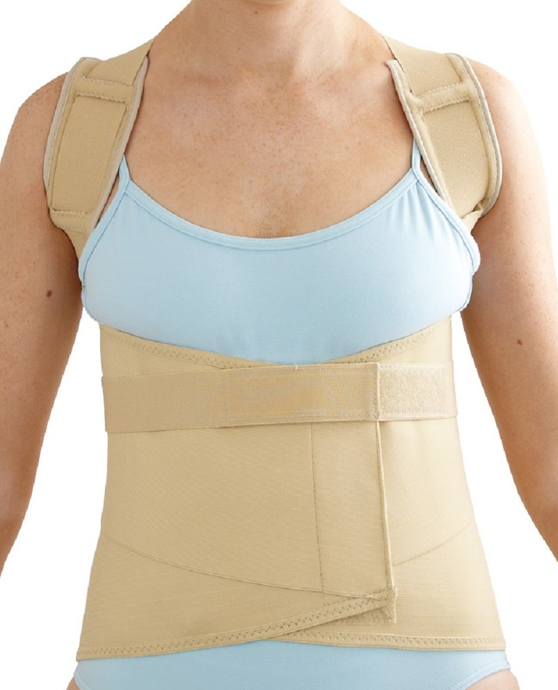 Dorsal Belt Support front view