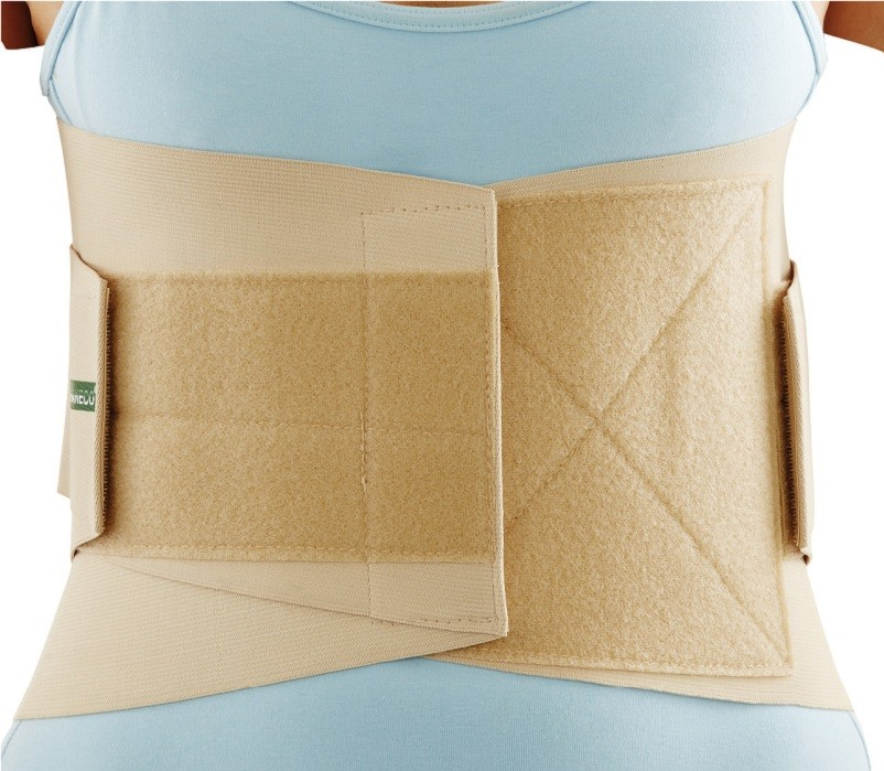 Deluxe Lumbar Sacro Support front view