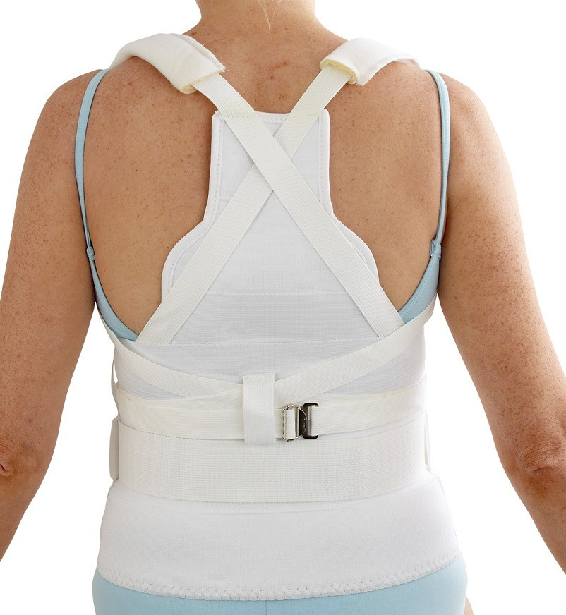 Hyperextension Orthomold Spinal Orthosis with Inserts