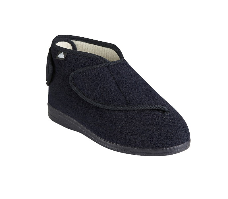 Morecombe slippers in navy