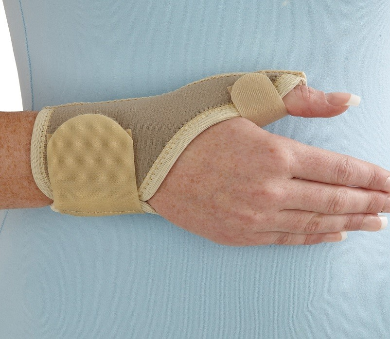 Neoprene Thumb Spica front view