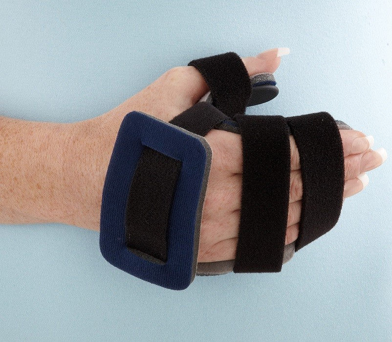 Opponent Hand Orthosis front view