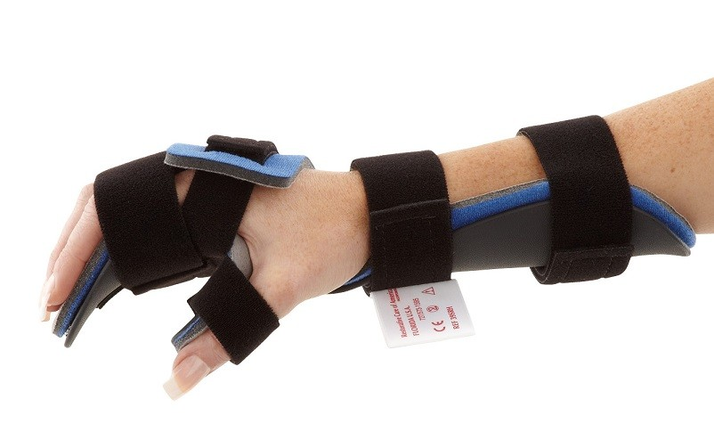 Resting Hand Orthosis side view